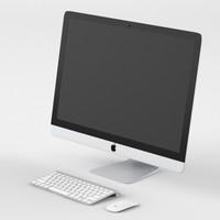 3d apple retina 5k