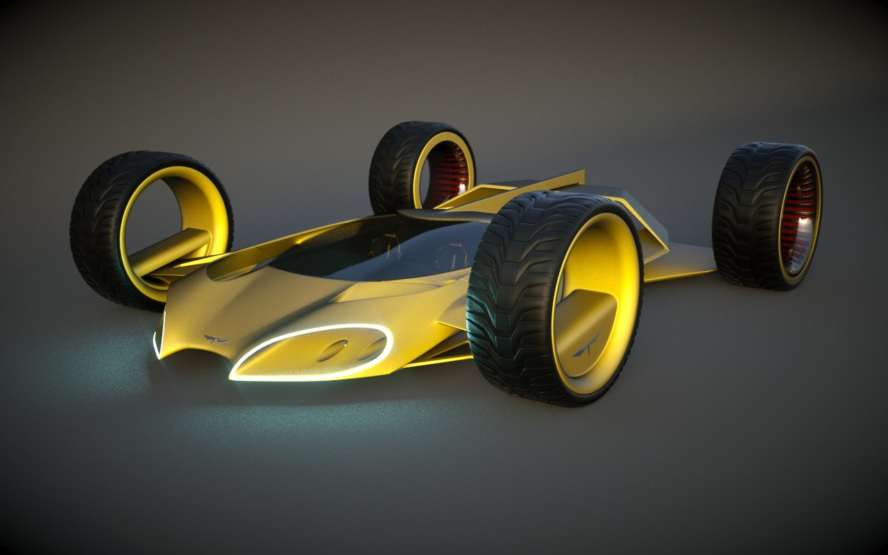 speed originally designed 3d model
