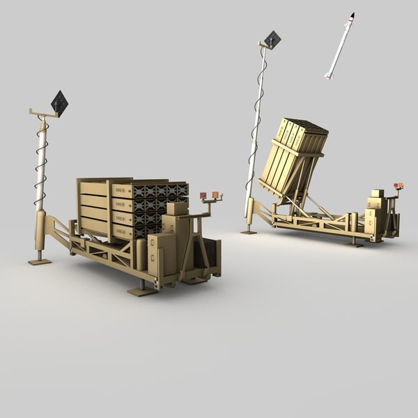 3d model iron dome