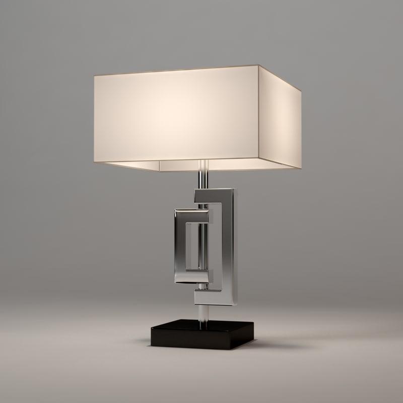 lamp table leroux eichholtz 3ds