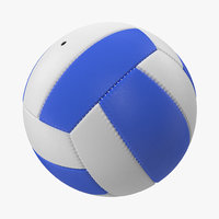 volleyball ball 2 3d 3ds