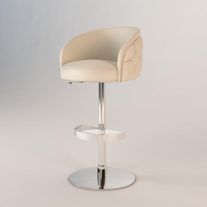 dxf fendi bibendum bar chair