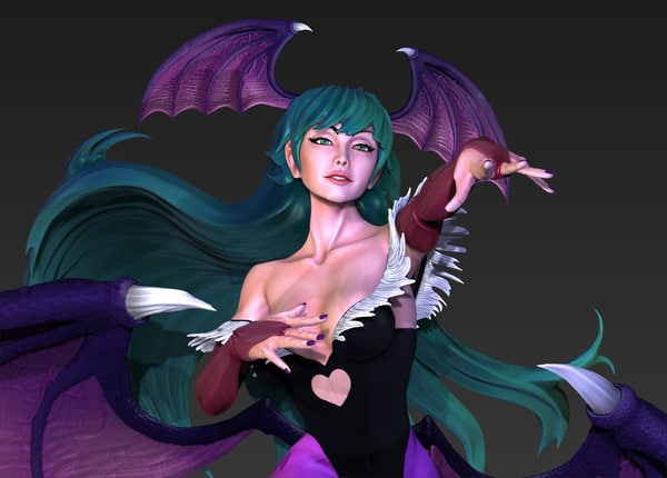 morrigan dark stalkers 3ds