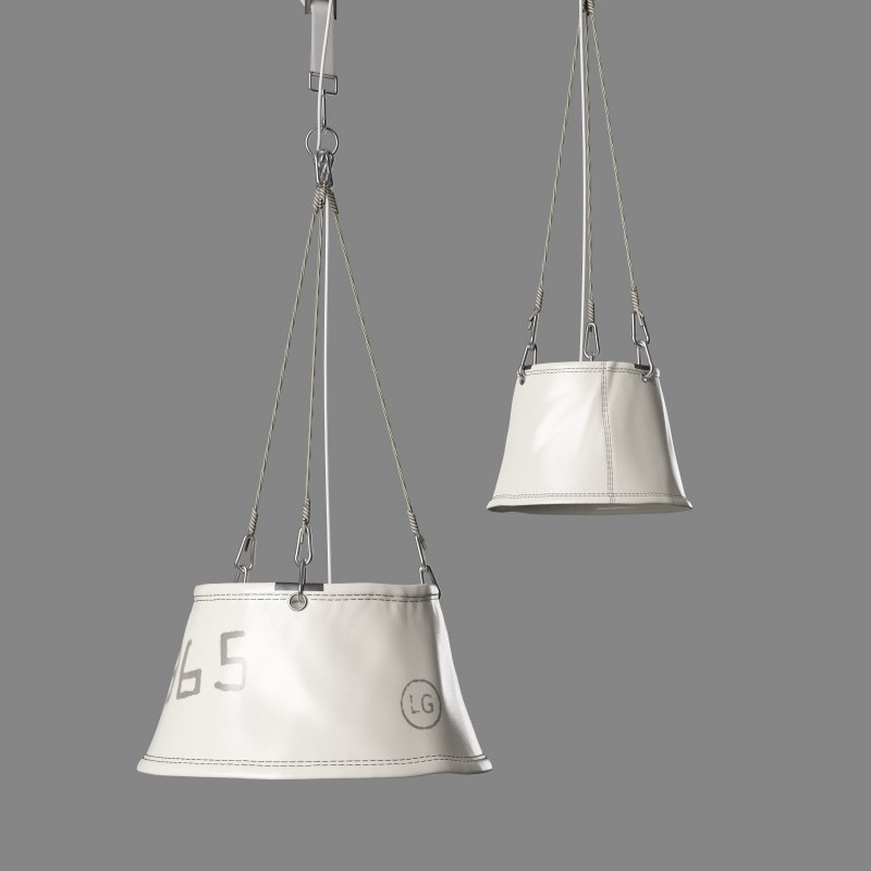 suspended lamps markslojd 3d max