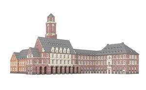 3d model city hall bottrop