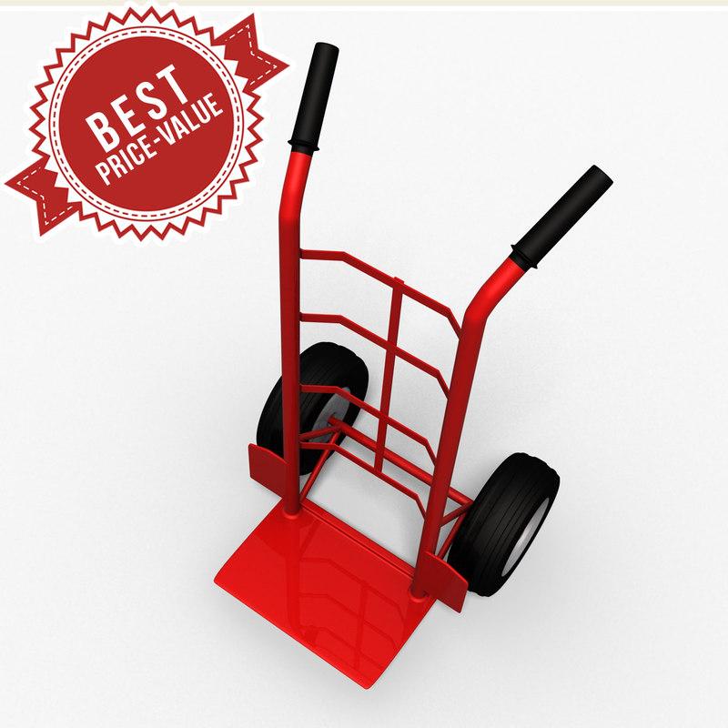 3d walkie truck model