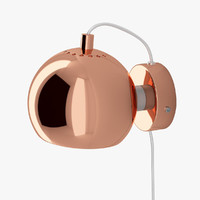 ball lamp frandsen lighting 3d model