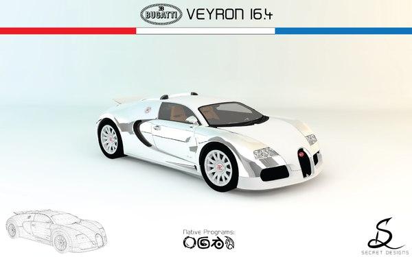 bugatti veyron 16 4 3ds