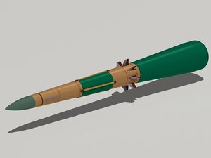 9m82 missile 3ds