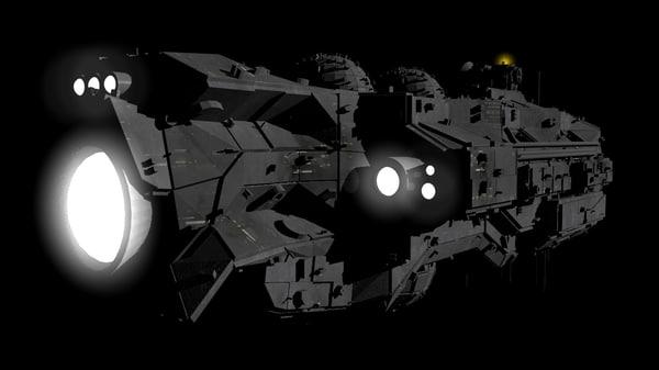 star cruiser 3d model