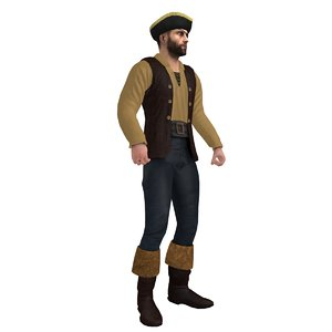 max rigged pirate hat