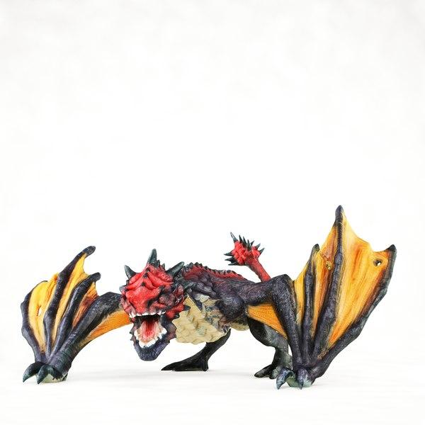 - dragon 3d c4d