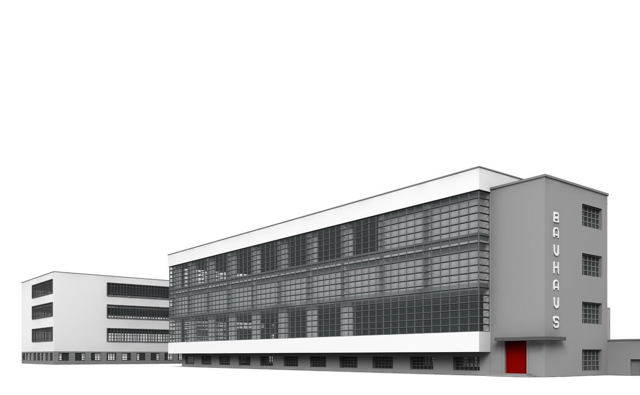 3d bauhaus for Bauhaus 3d tapete