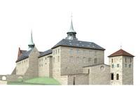 3d model akershus fortress oslo