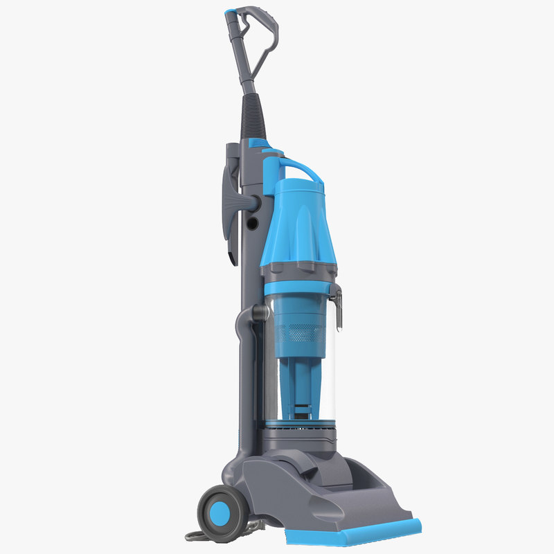 stand vacuum cleaner blue 3d max