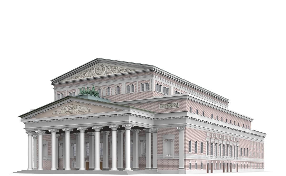 bolshoi theatre 3ds