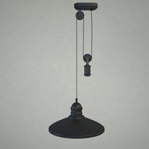 3d massive lamp