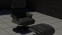 office chair 3d model
