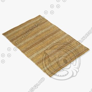 rizzy home rugs multi-colored 3d obj