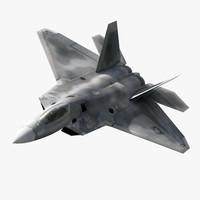 F-22 Raptor Jet Fighter