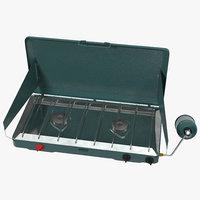 portable propane stove c4d