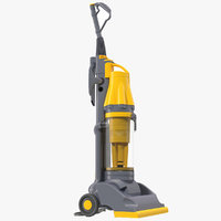 Stand Up Vacuum Cleaner Yellow