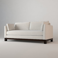 3d sofa avalon white barbara model