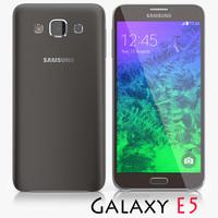 3d samsung galaxy e5