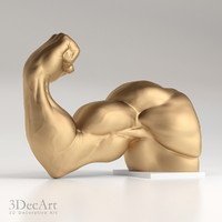 3D model hand bodybuilder | Ld_001
