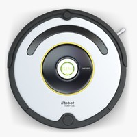 3d robot vacuum cleaner roomba