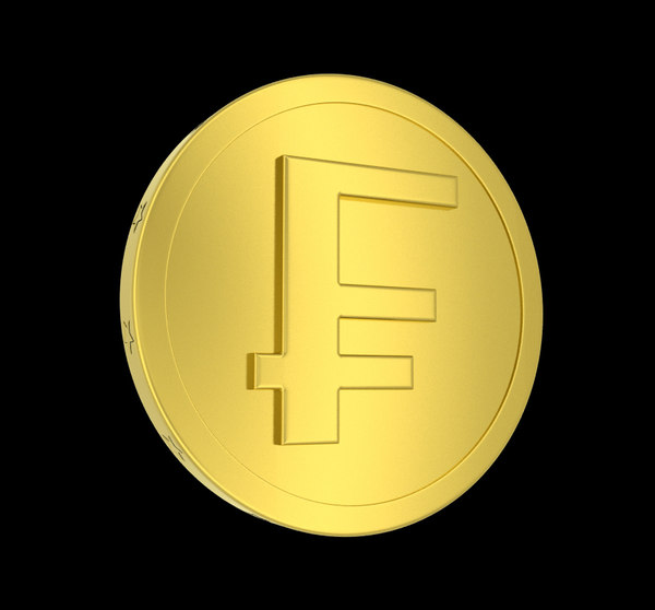 3d model metallic coin swiss franc