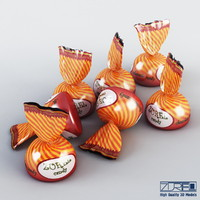 3d model of candy