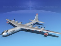 yb-60 convair b-36 peacemaker 3ds