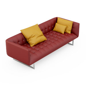 sofa edward 3d model