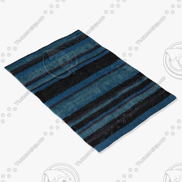 chandra rugs ami-30502 3d model