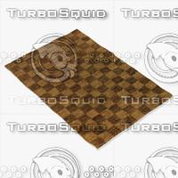 3d model chandra rugs art-3580