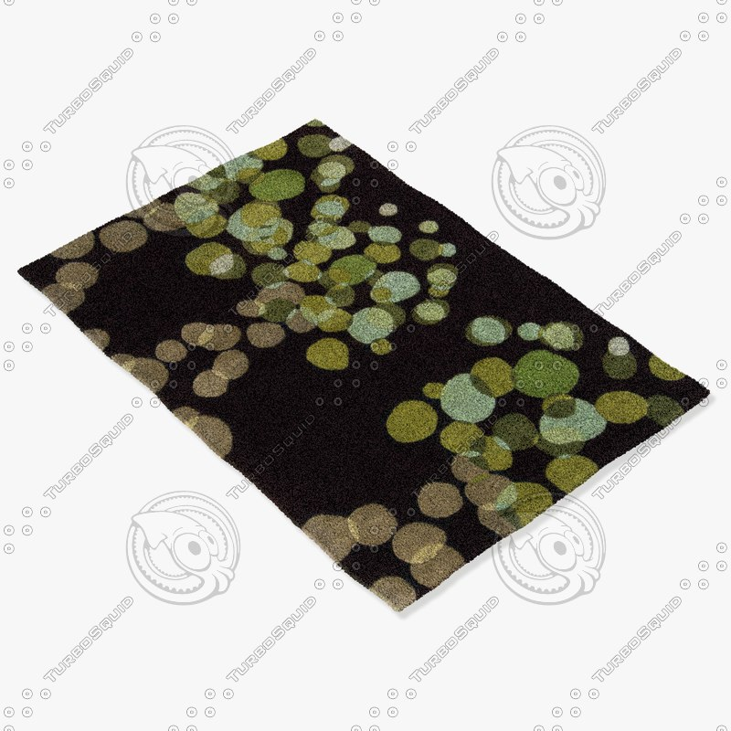 chandra rugs avl-6109 3d 3ds