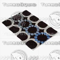 chandra rugs avl-6111 3d max