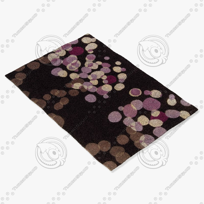 3d model chandra rugs avl-6114