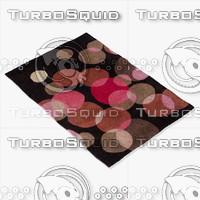 3d model chandra rugs avl-6115