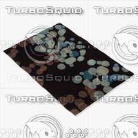 chandra rugs avl-6116 3d 3ds