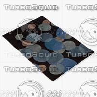 chandra rugs avl-6117 3d model