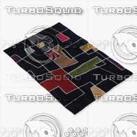 chandra rugs ben-3000 3d 3ds