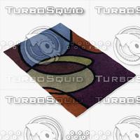 3ds max chandra rugs ben-3002