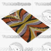 3d model chandra rugs ben-3004