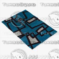 3d model chandra rugs ben-3005