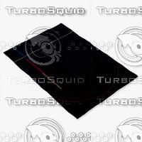chandra rugs ben-3016 3d model