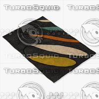 chandra rugs ben-3020 3d max