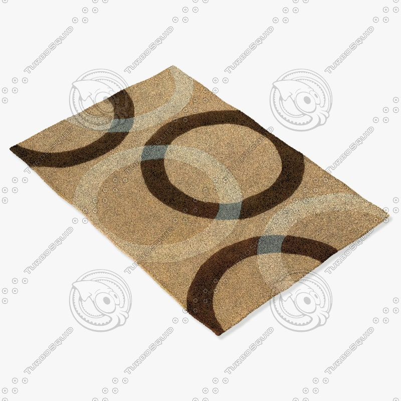 3d chandra rugs ben-3022 model