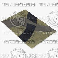 chandra rugs dai-4 3d model